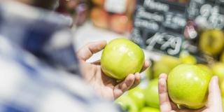 Динамика цен на основные продукты питания, январь