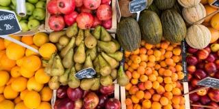 Динамика цен на основные продукты питания, октябрь